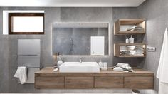Dobryinterier.sk Double Vanity, Bathroom, Home, Washroom, Full Bath, Ad Home, Homes, Bath, Bathrooms