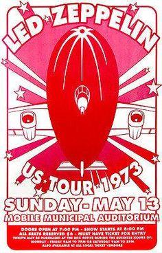 Led Zeppelin Poster.