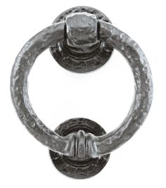 Louis Fraser 315 Door Knocker - Pewter Finish - This Louis Fraser 315 Door Knocker would look stunning on a wooden door. The detail of the malleable iron is superbly highlighted in the pewter finish, it creates a great first impression for visitors.