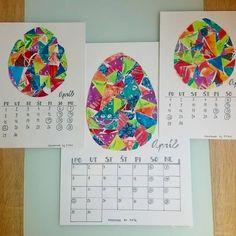 Easter eggs. Eric Carle ispired. COLLAGE.  Náš kalendár.  APRÍL.  #ericcarleinspired #april #paintingwithkids #collage #tvoreniesdetmi #malujemesdetmi #strihame #lepime #velkanoc Eric Carle, Easter Eggs, Art Projects, Collage, Inspiration, Instagram, Biblical Inspiration, Collages, Collage Illustration