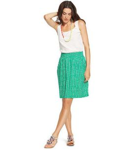 This Summer Jersey Skirt is sure to be the most comfortable skirt you'll ever own. The soft texture and drapey weight of it will feel as if you never got out of bed. http://thestir.cafemom.com/beauty_style/185791/15_musthave_midi_skirts_for