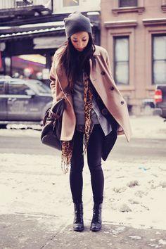 Like the winter look
