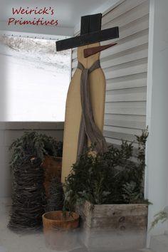 Our prim lil' side porch <3 https://www.facebook.com/pages/Weiricks-Primitives/182707055133836