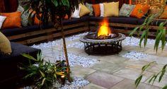 Idei inedite pentru focul de tabara decorativ din gradina | HomeGeek - Casa & Gradina