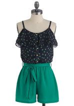 Olive My Friends and I Romper