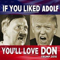 "But Melania is no Eva Braun, Eva ""loved"" being around uncle Adolf ♥"