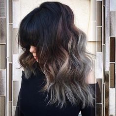 black+shaggy+hairstyle+with+silver+ombre