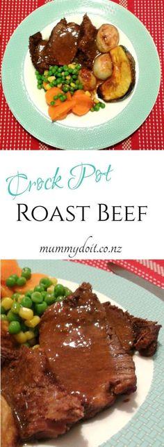 Crock Pot Roast Beef. Cook your favourite Sunday Roast in the crock ...