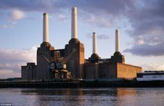 Iconic: The huge Battersea facility has been a feature of the London sky-line since it began operating in 1933, and has been given Grade II*... London Sales, Battersea Power Station, Art Deco Stil, Disused Stations, London History, London Photos, Abandoned Buildings, Pent House, London City