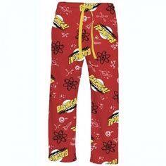 I <3 The Big Bang Theory Bazinga Lounge Pants!