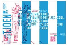 MK TJOENIT on Behance Music Channel, Afrikaans, Singing, Marketing, Behance