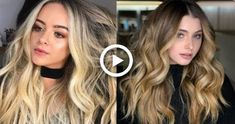 10 Stunning Medium Brown and Blonde Balayage Hair Color for Girls Beautiful Hairstyle - Hairstyles & Nails // DIY ♥ - Hochzeit Frisuren Cool Blonde Hair, Edgy Hair, Cool Hair Color, Haircuts For Medium Hair, Medium Hair Styles, Hair Color Balayage, Blonde Balayage, Blonde Hair Transformations, Balayage Hair Tutorial