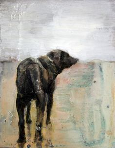 """""""Dog painting by Jari Ronkko."""" This reminds me so much of my sister's dog, George. Claude Monet, Illustrations, Illustration Art, Vincent Van Gogh, Dachshund, Encaustic Art, Wow Art, Animal Paintings, Indian Paintings"""