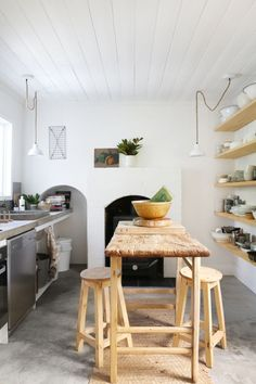 Rustic and modern in one - neutral interior design @pattonmelo