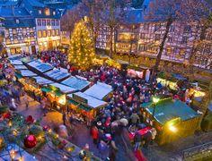 Weihnachtsmarkt in Monschau, © Foto Oliver Franke / Tourismus NRW e.V.