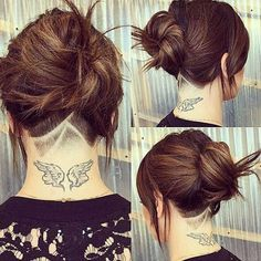 fun undercut pattern lines