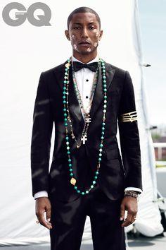 """""""Solo Artist: Pharrell Williams - GQ.co.uk"""""""