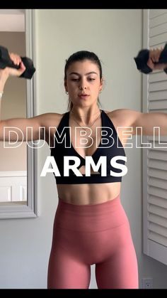 Dumbbell Workout, Hip Workout, Workout Videos, Workout Routine For Men, Fitness Workout For Women, Get Skinny Legs, Fit Board Workouts, Shoulder Workout, Physical Fitness