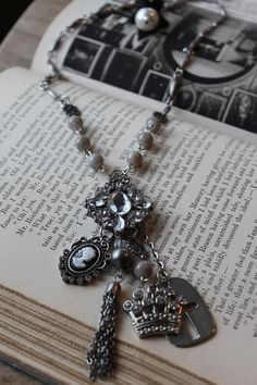 My Favorite Things Necklace by HaveFaithDesigns on Etsy