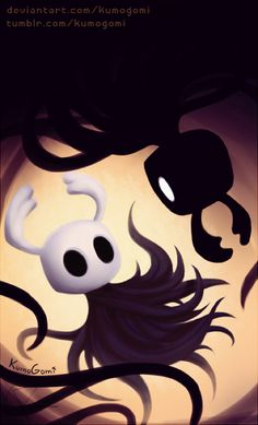 :Stare into the Void:. by KumoGomi on DeviantArt Knight Drawing, Knight Art, Colorful Drawings, Art Drawings, Team Cherry, Hollow Night, Knight Games, Hollow Art, Indie Games