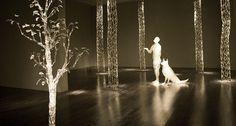 Rainy Day Dream Away (2010), glass,  installation view by David Willis. http://www.davidwillisglass.com