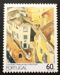 Item off the bucket list: See Lisbon. Both live and as presented on stamps like this one.
