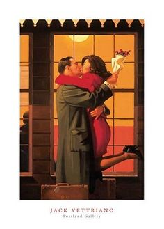 Back Where You Belong print by Jack Vettriano, ideal for framing