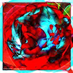 pixelkreation kachel 1 rottuerkis I © birgit kolmer I biko-d-sign.de