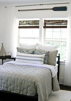 Seersucker bedding - too cute