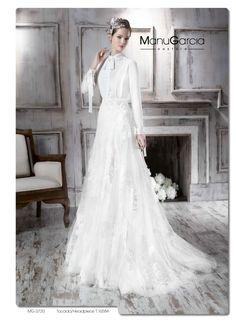 Un vestido de novia en dos piezas. Colección 2016 http://blog.higarnovias.com/2015/08/18/vestido-de-novia-en-dos-piezas/ #Entrebastidores #BlogHigarNovias