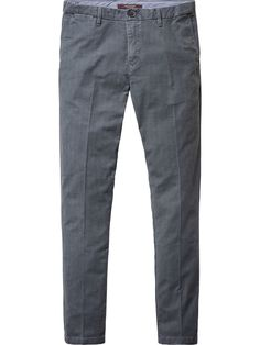 All-Over Printed Chino - Mott | Pants | Men Clothing at Scotch & Soda
