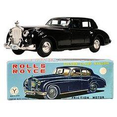 c.1965 Yonezawa Rolls Royce Silver Cloud in Original Box