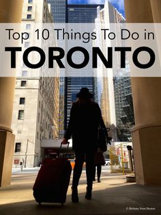 Toronto is the biggest city in Canada! Let me show you what's great about this city and all the best things to do in Toronto! Visitar Canada, The Places Youll Go, Places To Go, Stuff To Do, Things To Do, Toronto Travel, Toronto Vacation, Ontario Travel, Canada Travel