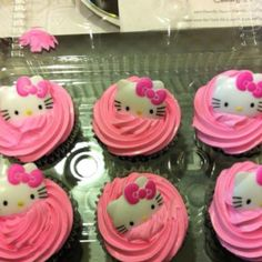 Hello Kitty Pink Cup Cakes from Giant