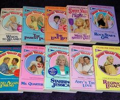 Sweet Valley High, Twins & University!!  I read them all!