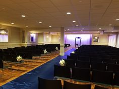 This is the loft where you can have your ceremony at the Avalon Events Center in Fargo, ND.
