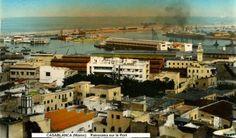 Panorama sur le port de Casablanca #Casablanca #Maroc #Morocco