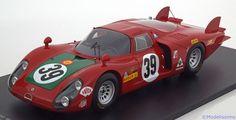 Alfa Romeo 33/2, 24h Le Mans 1968, No.39, Giunti/Galli. Spark, 1/18, No.18S129, resine. Price (2016): 150 EUR.