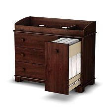Babies R Us-South Shore Precious Collection Changing Table - Royal Cherry