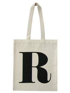 R Tote by AlphabetBags