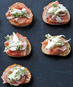 Treat guests to these delicious and downright easy appetizers.