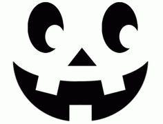Halloween Pumpkin Carving Template Smiley Face  Halloween