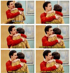 "Because Cory wouldn't let Shawn go. | 19 Reasons Cory And Shawn Were The Most Important Couple On ""Boy Meets World"""