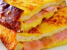 カナダ生まれのサンドイッチで フレンチトーストとクロックムッシュを 合わせたような感じ♪