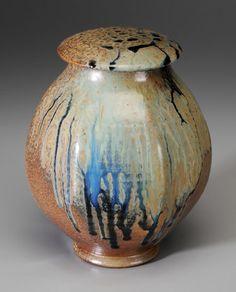 Ben Owen III Lidded Jar, late 20th century.