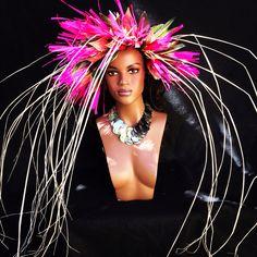 Headdress by Rika. Www.islandmana.com or islandmanadesigns on Etsy.