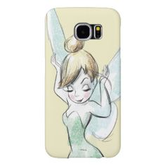 Confident Tinker Bell Samsung Galaxy S6 Cases