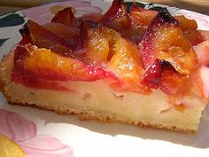"""Zwetschgenkuchen (""""Quetschekuche"""", plum cake): Zwetschgenkuchen (Quetschekuche, plum cake) is known as a summer cake and is referred to in the various regions of Germany, Austria and Switzerland, usually with proper names. Tastes very fresh and makes an excellent dessert!"""