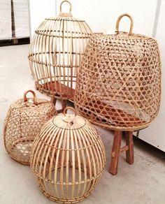Bamboe hanenmanden