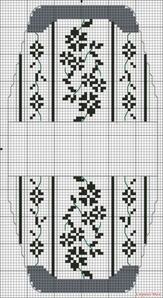 Blue or Purple or Pink. No color chart. Cross Stitch Needles, Cross Stitch Bird, Cross Stitch Samplers, Cross Stitch Flowers, Cross Stitch Designs, Cross Stitching, Cross Stitch Embroidery, Cross Stitch Patterns, Purse Patterns